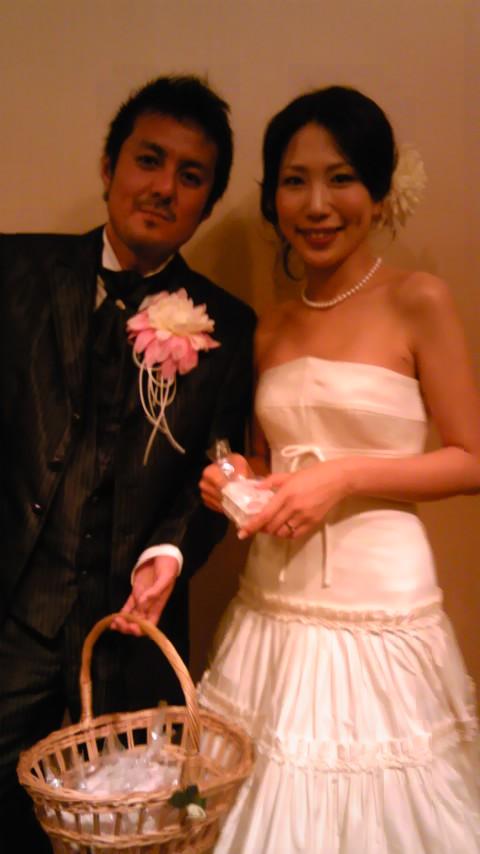 静岡での結婚式。   牧、おりさん、おめでとうございます。